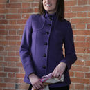Blueberry Wool And Cashmere Jacket