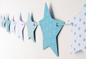 Christmas Bunting Decoration - children's room