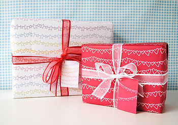 Recycled Gift Wrap Set