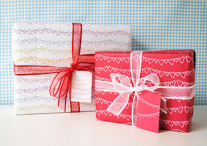 Recycled Gift Wrap Set - shop by occasion