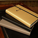 Gold Or Black Leather Pocket London A Z Atlas