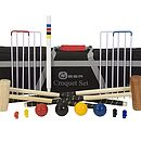 Family Croquet Set With Tool Kit Bag