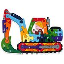 alphabet digger educational puzzle