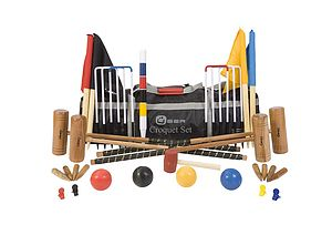 Pro Croquet Set - outdoor toys & games