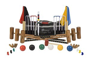 Six Player Pro Croquet Set - toys & games