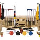 Executive Croquet Set With Wooden Box