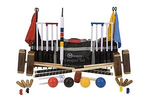 Championship Croquet Set - outdoor toys & games