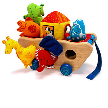 Noah Activity Ark - Traditional Baby Toy