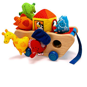 Noah Activity Ark - Traditional Baby Toy - toys & games