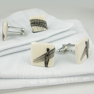 Iconic Newcastle/Gatehead Cufflinks - cufflinks