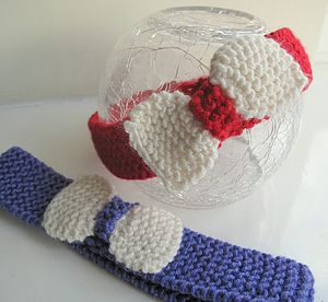 Bow Headband for Babies and Girls - babies' hats