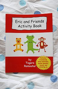 Children's Activity Book For 5-7yr Olds