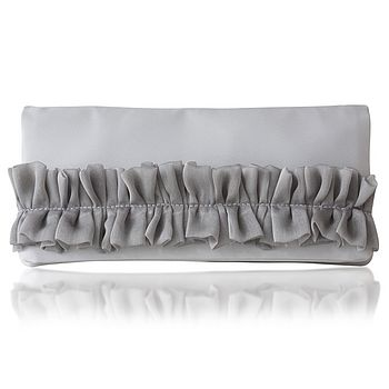 Camilla Satin Clutch