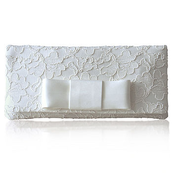 Astrid Bridal Bow Clutch