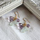 Heidi Semi Precious Drop Earrings