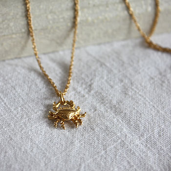 Crab Necklace