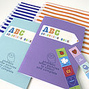 Set Of Eight Party ABC Colouring Books