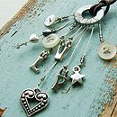 Personalised Charm Letter Necklace