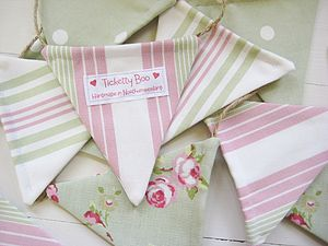 Handmade Bunting on Jute String - children's room accessories