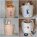 Toy Storage Canvas Bag