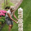 Giant Garden Tumble Tower