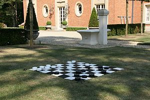Garden Draughts - interests & hobbies