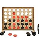 Giant Connect Four With Wheels