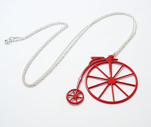 Penny Farthing Necklace