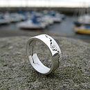 Silver Coast Ring With Diamond