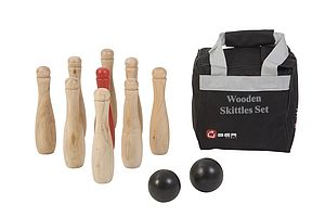 Wooden Skittles Sets - Garden Games & Activities