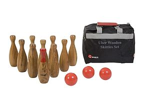 Wooden Skittles Sets - toys & games