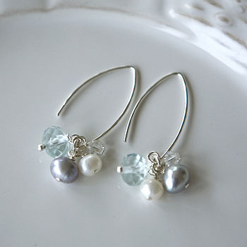 aqua earrings 2