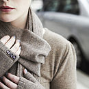 10%Off Cashmere Scarf,Gloves Set Mother's Day