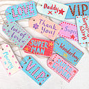 Personalised Wooden Decorative Tag