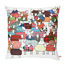 Colourful Sheep Cushion