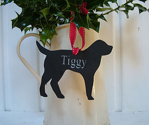 Engraved Personalised Pet Decorations - last-minute christmas decorations