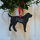 Engraved Personalised Pet Decorations