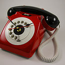 Rotary Phone Executive Desk / Wall Clock