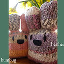 Little Bunny Knit Kit- Humbug and Heather