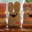 Three Bunnies Knit Kit *FREE Delivery*