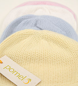 Vintage Knit Cashmere Baby Hat - children's accessories