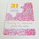 Love Cloud Save The Date Card