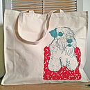 Sealyham Terrier Screen Printed Bag