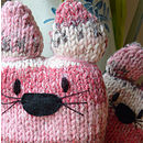 Rose Knitty Cats