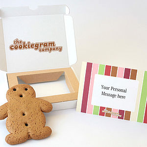 Traditional Gingerbread Cookiegram