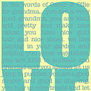 Personalised 'In The Words Of' Art Print