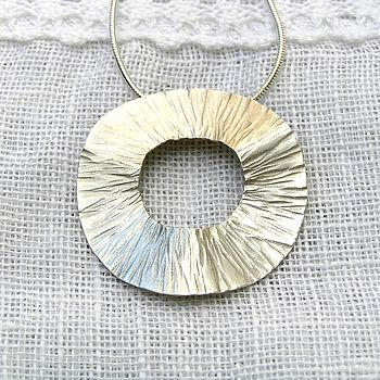Radiant Silver Pendant