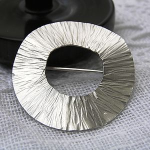 Radiant Silver Brooch - pins & brooches