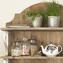 Country Style Wooden Shelf Unit