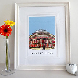 Albert Hall London Print